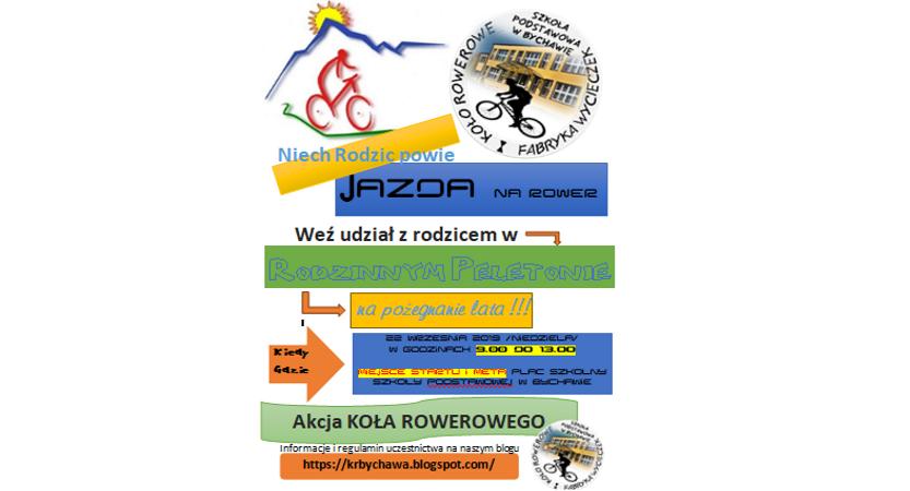 Read more about the article Zapraszamy na rodzinny rajd rowerowy