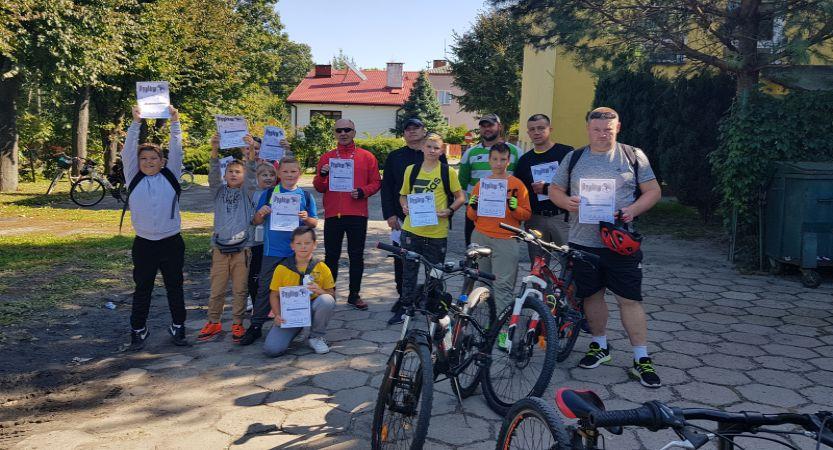 Read more about the article Pierwszy Rodzinny Rajd Rowerowy na pożegnania lata