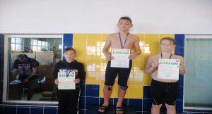 Powiatowe Igrzyska Dzieci i Młodzieży w pływaniu