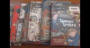 Nowe książki w bibliotece szkolnej!
