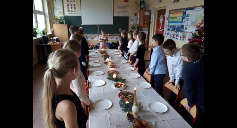 Read more about the article Wigilia w klasie 3c