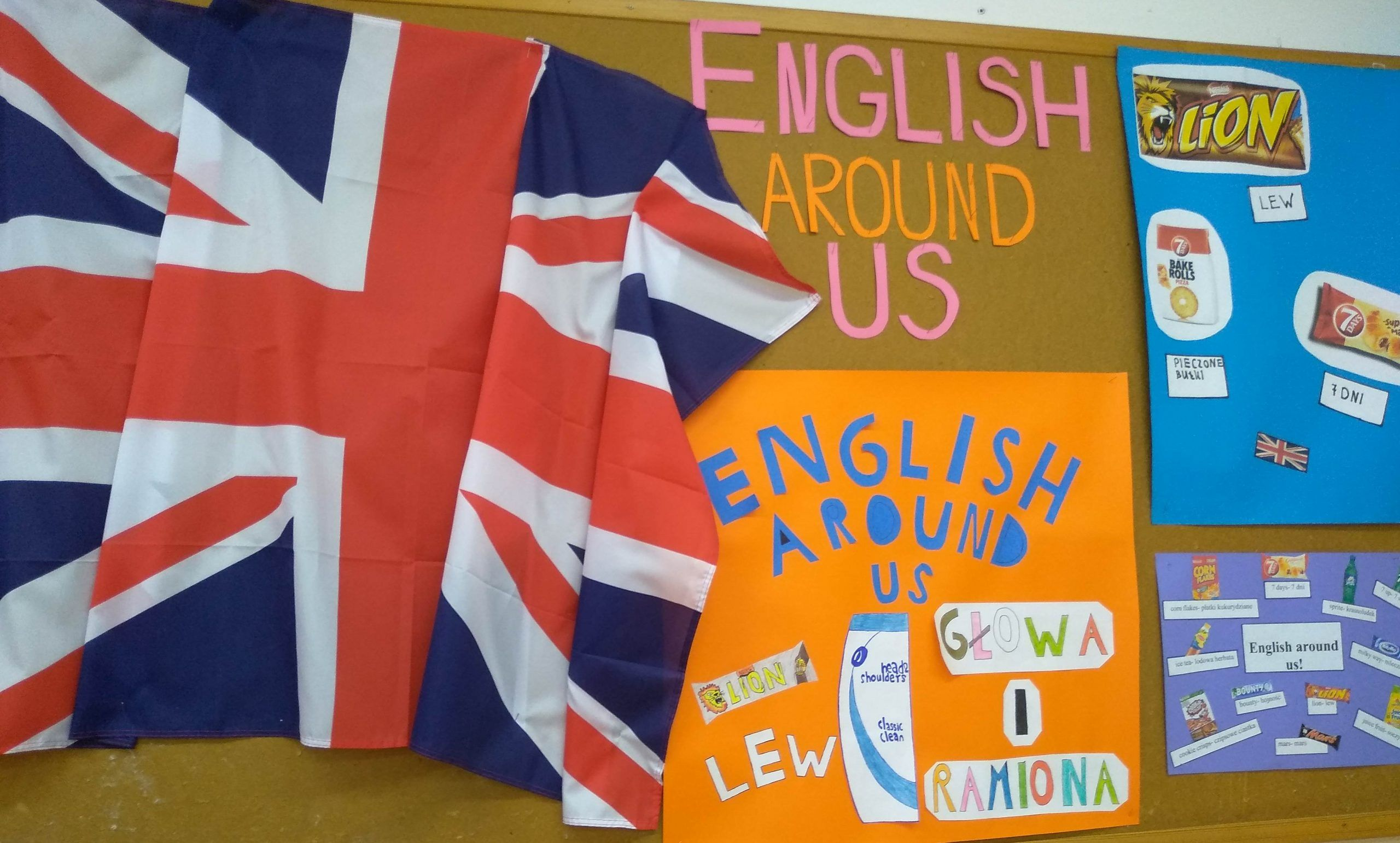Read more about the article English Around Us