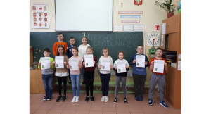 Klasa IIIc – Klasowy Konkurs Głośnego Czytania