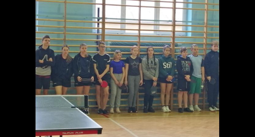 Rejonowe Igrzyska Młodzieży w tenisie stołowym