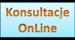 Harmonogram konsultacji prowadzonych online