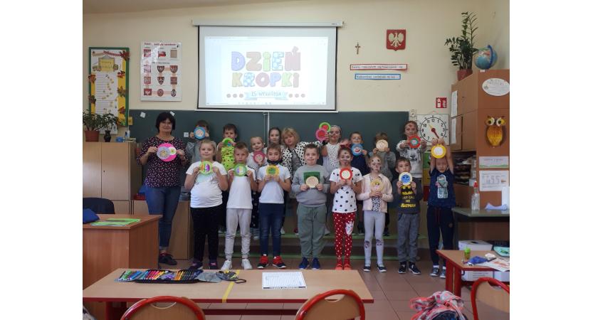 Międzynarodowy Dzień Kropki, czyli święto kreatywności w klasie IIc